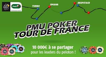 tour de France pmu poker