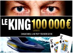 Remportez votre part des 100 000 € garantis sur pmu.fr et devenez le King