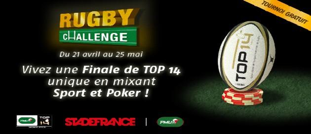 challenge rugby poker sur pmu.fr