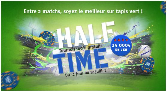 challenge half time sur pmu.fr