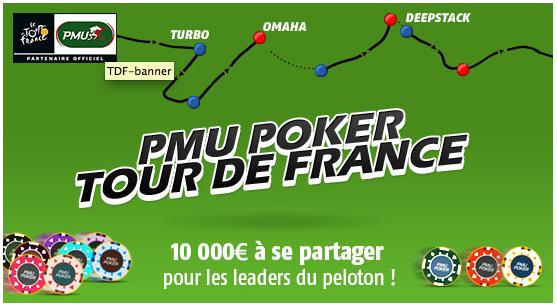 tour de france sur pmu poker