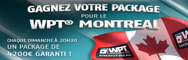 Qualifiez vous pour le WPT de Montréal sur PMU