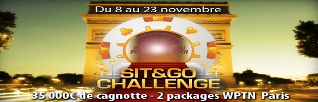 Challenge Sit and Go sur PMU