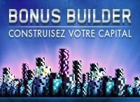Profitez de l'offre Bonus Builder