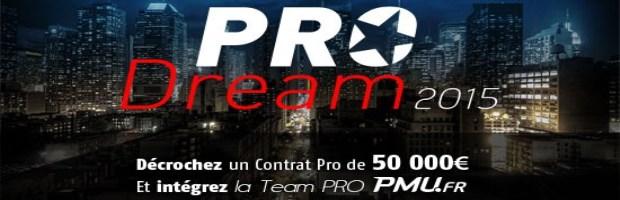 PRO Dream sur PMU Poker