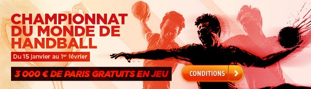 championnat du monde de handball sur PMU