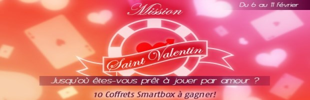Mission Saint Valentin sur PMU