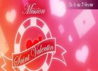 Mission Saint Valentin sur PMU Poker