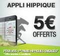 Appli hippique : 5 euros offerts sur PMU