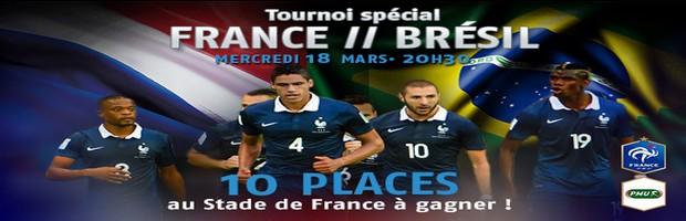 Tournoi France/Brésil sur PMU