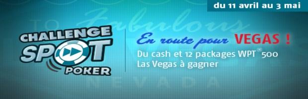 Challenge Spot Poker PMU