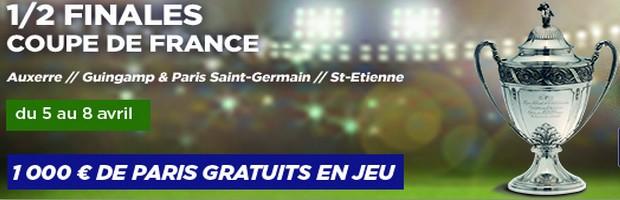 Le challenge se la coupe de France sur PMU