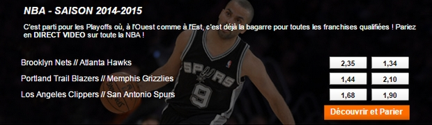 NBA en direct sur PMU