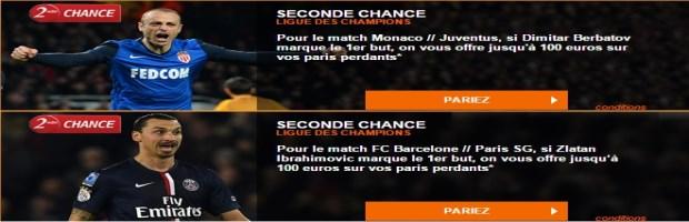 Seconde Chance 1/4 finale LDC
