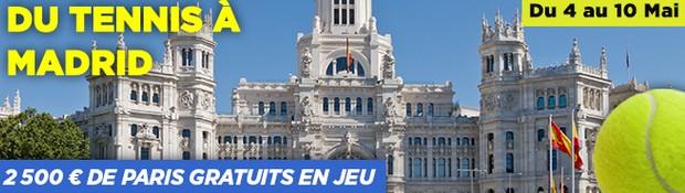 challenge tournoi de Madrid sur PMU