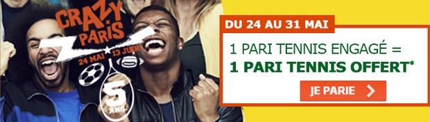 Paris tennis PMU