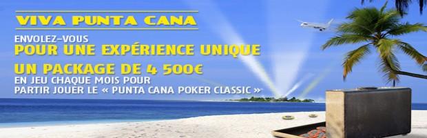Viva Punta Cana sur PMU poker