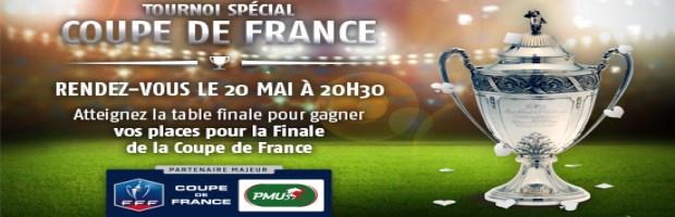Tournoi de poker finale cdf sur pmu des places psg aja - Billets finale coupe de france ...