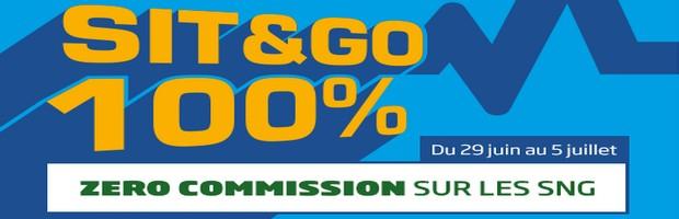 100% sit&go sur PMU