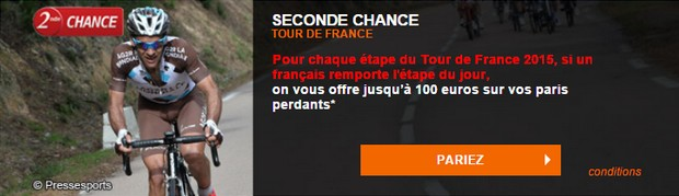 seconde chance PMU tour de France
