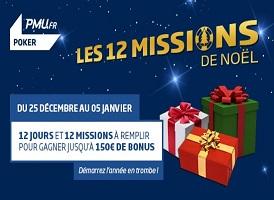 Jusqu'à 150 € à gagner du 25 décembre au 5 janvier