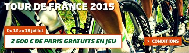 Sur PMU le Tour de France
