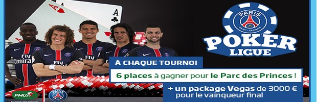 La Paris Poker Ligue 2015 2016 sur PMU