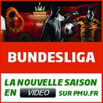 La Bundesliga en direct sur PMU