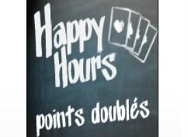 Augmentez vos points PMU grâce aux Happy Hours