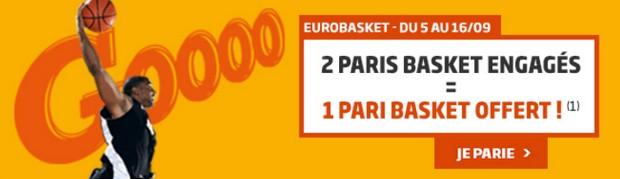 L'Euro de basket avec PMU