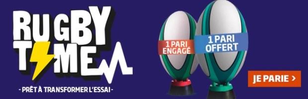 Promo Rugby Septembre sur PMU