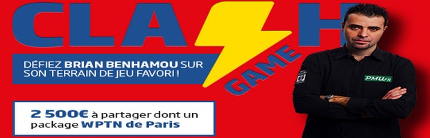 Le Clash Game sur PMU Poker