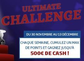 participer à l'ultimate challenge
