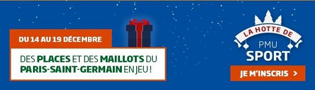 Des places et des maillots du PSG à gagner du 14 au 19 décembre sur PMU.fr