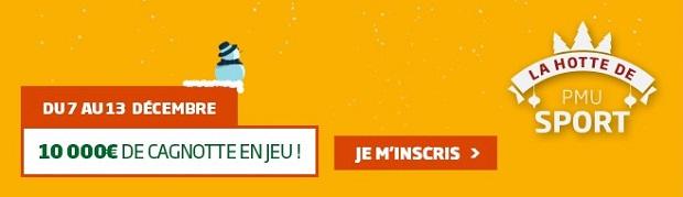 Jackpot de 10.000 € mis en jeu par PMU Sport pour la 18ème journée de Ligue 1