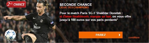 PSG-Donetsk LDC : Offre Seconde Chance