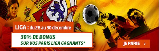 PMU Sport boost vos gains lors de la 17ème journée de Liga