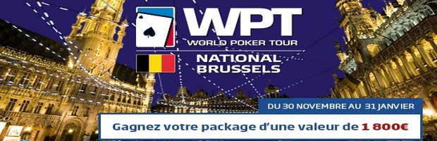 Le WPT National de Brussels sur PMU