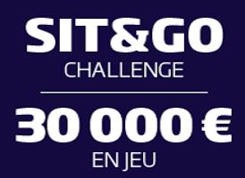 PMU Poker : 30.000€ garantis pour le Challenge SNG de janvier