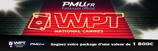 PMU WPT cannes