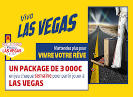 PMU Poker met en jeu chaque dimanche un package de 3.000€ pour partir aux WSOP de Las Vegas