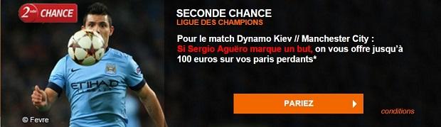 Dynamo Kiev-Manchester City sur PMU
