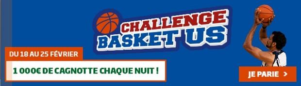 NBA sur PMU : 10.000 € mis en jeu du 18 au 25 février