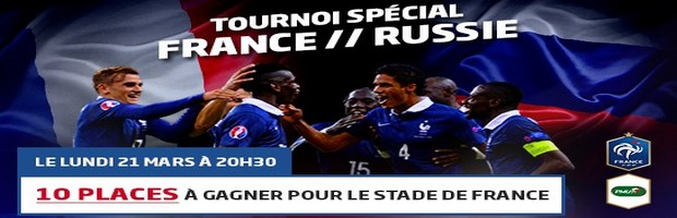 Tournoi France/Russie sur PMU poker