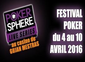 Festival Poker Sphere sur PMU.fr : Un package de 600€ à gagner