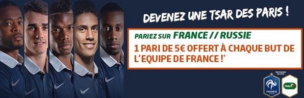 France-Russie sur PMU Sport