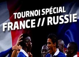 Remportez vos places pour France-Russie avec PMU poker