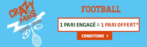 40€ offerts en pariant sur le Foot avec PMU Sport en avril
