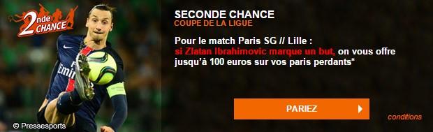 La Seconde Chance PSG/Lille sur PMU