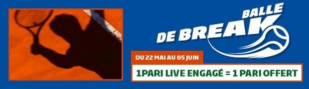 Pariez sur Roland Garros avec PMU